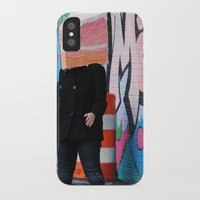 detroit iPhone & iPod Cases featuring Detroit Graffiti by ashurcollective