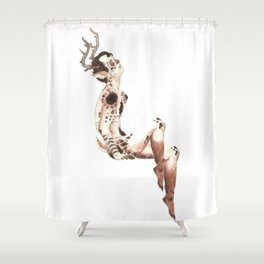 Little Fawn Shower Curtain