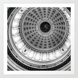 Wisconsin Capitol Dome Art Print