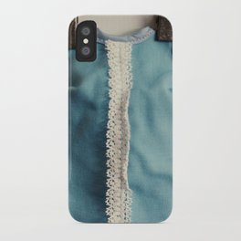 Doll Closet Series - Blue Dress iPhone Case