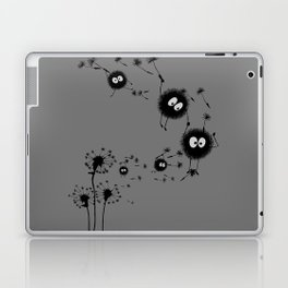 Flying Susuwatari Laptop & iPad Skin