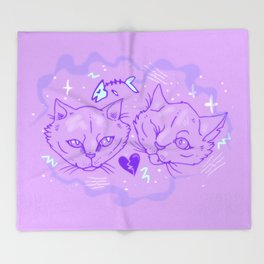 LoveCats Throw Blanket