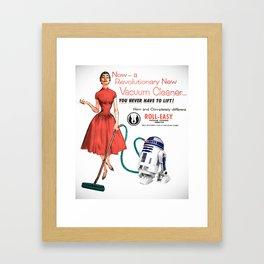R2D2 Vacuum Framed Art Print