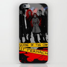 Mitternacht - THE SCENE OF THE CRIME iPhone Skin
