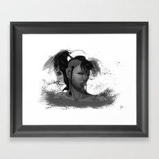 SP-Tribal (Female) Framed Art Print