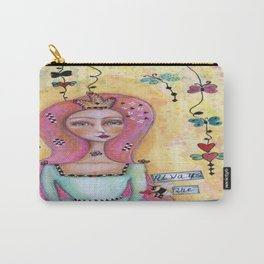 Always Be The Queen Carry-All Pouch