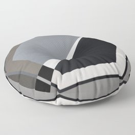 London - hexagon Floor Pillow