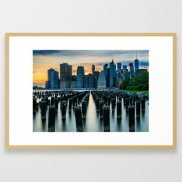 New York, New York 3 Framed Art Print