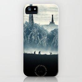 Tolkien Books iPhone Case