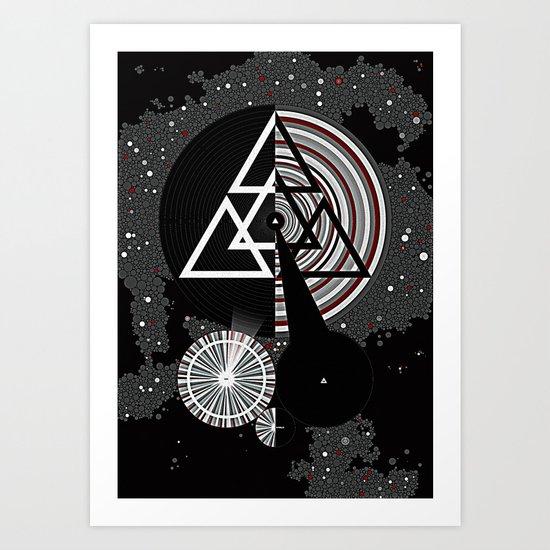 Omega Code Poster Art Print