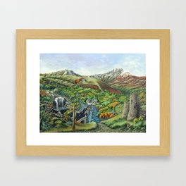 Prelude To Powys Framed Art Print