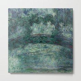"Claude Monet ""The Japanese bridge"" Metal Print"