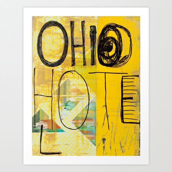 Oh, Hi, Oh Art Print