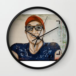Maryan Ines Cu Fua Wall Clock