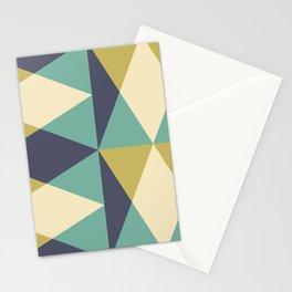 Mid Century Modern Geometric Pattern 432 Stationery Cards