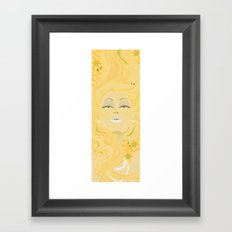 honey hive Framed Art Print