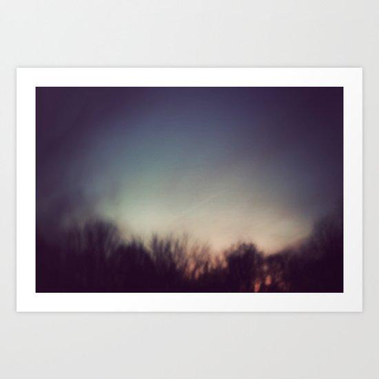 A Blur Art Print