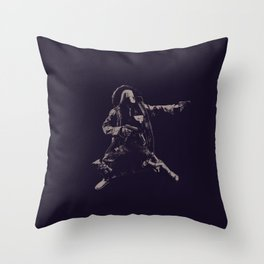 The Shoot Out Throw Pillow