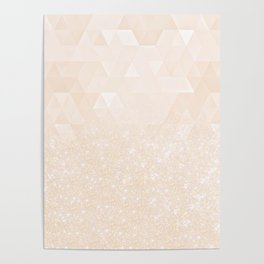 Experimental Glitter X Poster