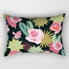 California Rose Garden Rectangular Pillow