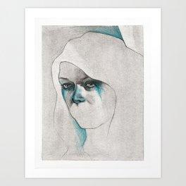 NaNoDrawMo 2012 - 17 Art Print