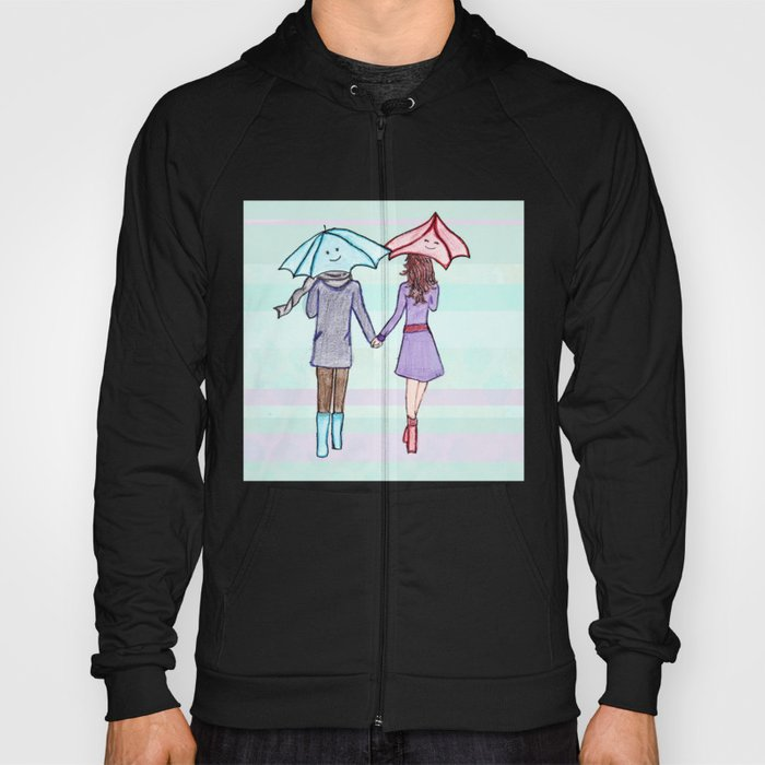 When You Are By My Side Hoody