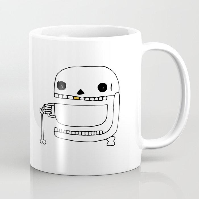 Espresso Skull Coffee Mug