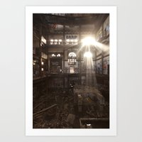Ray, when someone asks if you are a God, you say YES! Art Print