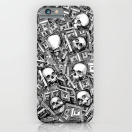 Root Of All Evil iPhone Case