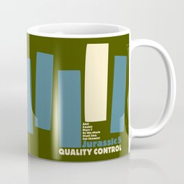 Jurassic 5 Blue Note Records Cover Coffee Mug