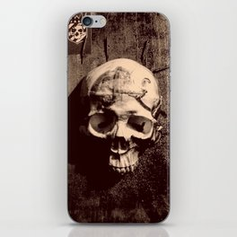 Catacomb Culture - Skull and Paint iPhone Skin