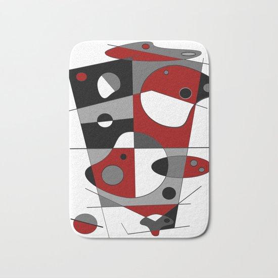Abstract #36 Bath Mat