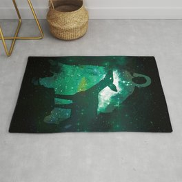 Snape and the Doe Rug