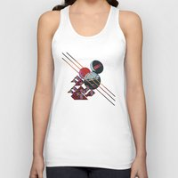 2001 a space odyssey Tank Tops featuring 2001 a space odyssey by lina