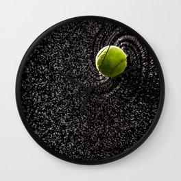 Spin Serve     Tennis Ball Wall Clock
