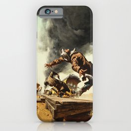 Frank McCarthy painting for Once Upon a Time in the West iPhone Case