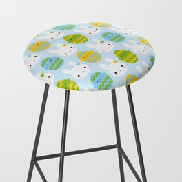 Kawaii Easter Bunny & Eggs Bar Stool