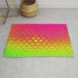 Color crazy Hexagons Rug