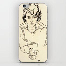 Egon Schiele -Seated Woman iPhone Skin