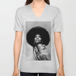 Diana Ross - Black Culture - Black History Unisex V-Neck