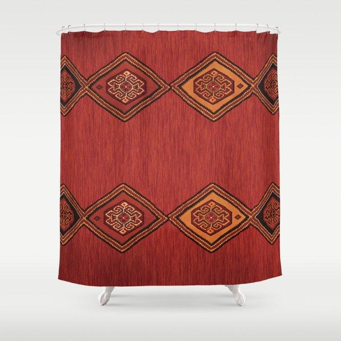 Persian Carpet Design Shower Curtain