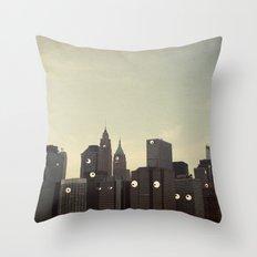 Building Conversations  Throw Pillow
