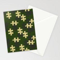 chameleon puzzle Stationery Cards