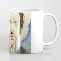 les mis Mugs featuring Les Mis by Paxelart