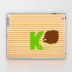 k for kiwi Laptop & iPad Skin