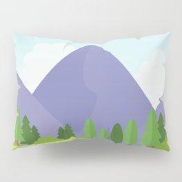 Nature landscape moutain Pillow Sham