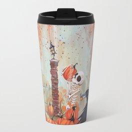 Patching Pumpkins Travel Mug