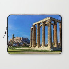 ruins of ancient temple of Zeus, Athens, Greece, HDR photo Laptop Sleeve