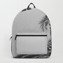 Minimal - Palm tree leafs photography I  Backpack
