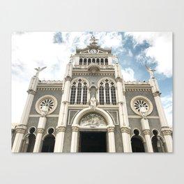 Iglesia Tica Canvas Print